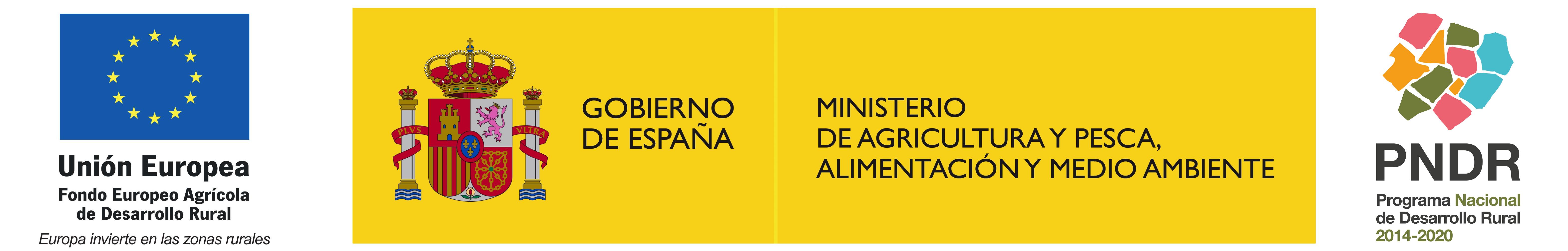 Fondo Europeo Agrícola Desarrollo Rural - Ministerio de Agricultura y Pesca, Alimentación y Medio Ambiente - Programa Nacional de Desarrollo Rural 2014-2020
